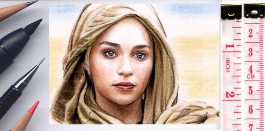 Emilia Clarke by wu-wei